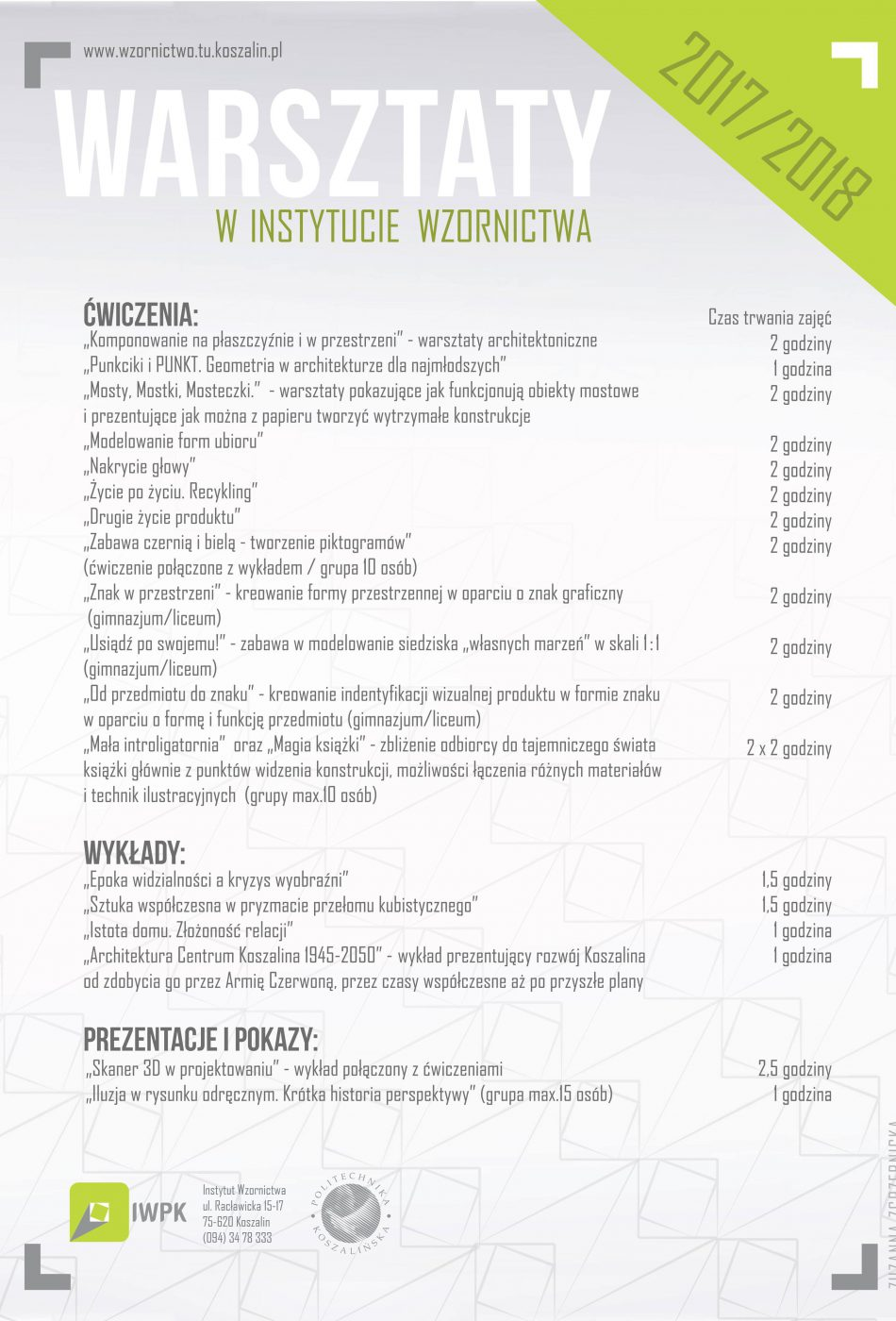 warsztaty_instytut wzornictwa_tematy